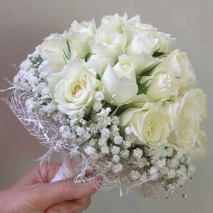 Bridal White bouquet