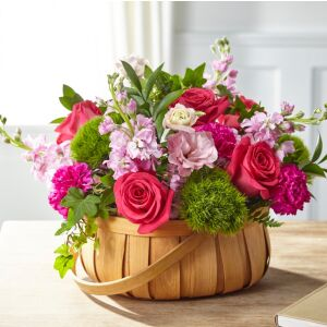 Radiance in Bloom Basket
